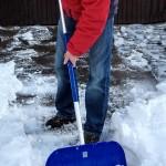 Schneeräumen im Winter ist Pflicht